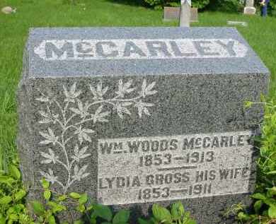 MCCARLEY, LYDIA - Gallia County, Ohio | LYDIA MCCARLEY - Ohio Gravestone Photos