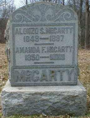 SWISHER MCCARTY, AMANDA - Gallia County, Ohio | AMANDA SWISHER MCCARTY - Ohio Gravestone Photos