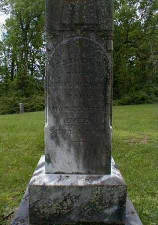RIFE MCCARTY, ESTHER - Gallia County, Ohio | ESTHER RIFE MCCARTY - Ohio Gravestone Photos