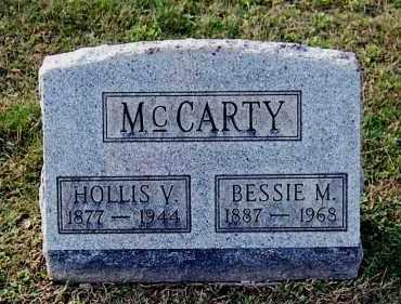 MCCARTY, HOLLIS V - Gallia County, Ohio | HOLLIS V MCCARTY - Ohio Gravestone Photos