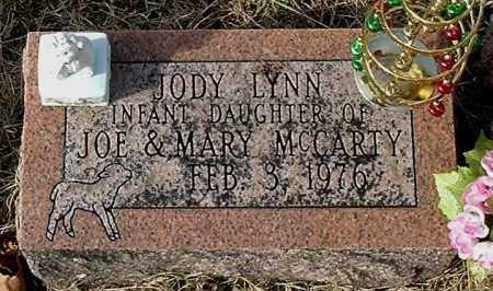 MCCARTY, JODY LYNN - Gallia County, Ohio   JODY LYNN MCCARTY - Ohio Gravestone Photos