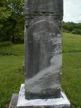 MCCARTY, JONAS - Gallia County, Ohio | JONAS MCCARTY - Ohio Gravestone Photos