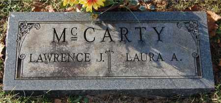 MCCARTY, LAWRENCE J - Gallia County, Ohio | LAWRENCE J MCCARTY - Ohio Gravestone Photos