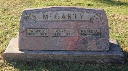 MCCARTY, OSCAR C - Gallia County, Ohio | OSCAR C MCCARTY - Ohio Gravestone Photos