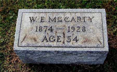 MCCARTY, WALTER EUGENE - Gallia County, Ohio   WALTER EUGENE MCCARTY - Ohio Gravestone Photos