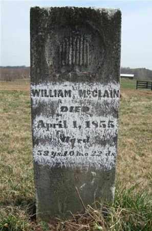MCCLAIN, WILLIAM - Gallia County, Ohio | WILLIAM MCCLAIN - Ohio Gravestone Photos