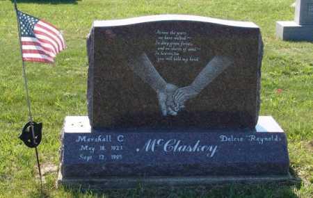 MCCLASKEY, MARSHALL CLAIR - Gallia County, Ohio | MARSHALL CLAIR MCCLASKEY - Ohio Gravestone Photos
