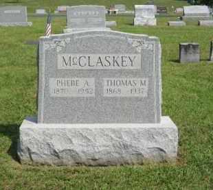 MCCLASKEY, THOMAS M - Gallia County, Ohio | THOMAS M MCCLASKEY - Ohio Gravestone Photos