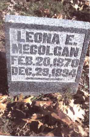 MCCOLGAN, LEONA E. - Gallia County, Ohio | LEONA E. MCCOLGAN - Ohio Gravestone Photos