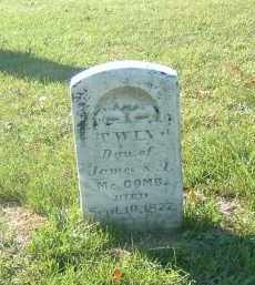 MCCOMB, TWIN - Gallia County, Ohio | TWIN MCCOMB - Ohio Gravestone Photos