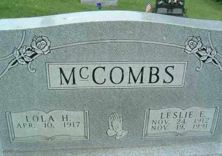 MCCOMBS, LOLA H. - Gallia County, Ohio | LOLA H. MCCOMBS - Ohio Gravestone Photos
