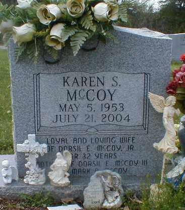 MCCOY, KAREN - Gallia County, Ohio   KAREN MCCOY - Ohio Gravestone Photos