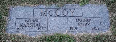 MCCOY, MARSHALL - Gallia County, Ohio | MARSHALL MCCOY - Ohio Gravestone Photos