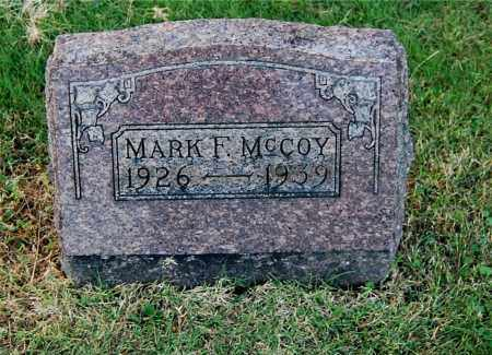 MCCOY, MARK F - Gallia County, Ohio | MARK F MCCOY - Ohio Gravestone Photos
