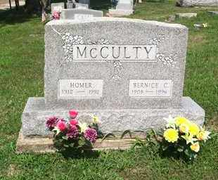 MCCULTY, BERNICE - Gallia County, Ohio | BERNICE MCCULTY - Ohio Gravestone Photos