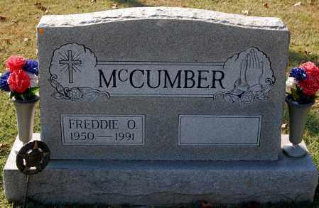MCCUMBER, FREDDIE O. - Gallia County, Ohio   FREDDIE O. MCCUMBER - Ohio Gravestone Photos
