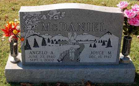 MCDANIEL, ANGELO A. - Gallia County, Ohio | ANGELO A. MCDANIEL - Ohio Gravestone Photos