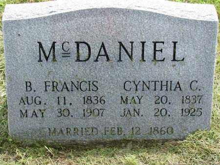POWELL MCDANIEL, CYNTHIA G - Gallia County, Ohio   CYNTHIA G POWELL MCDANIEL - Ohio Gravestone Photos