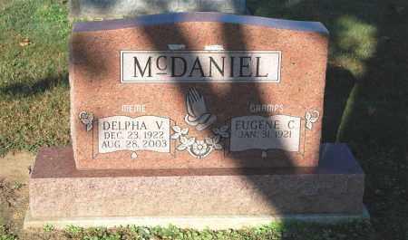 MCDANIEL, DELPHA V. - Gallia County, Ohio | DELPHA V. MCDANIEL - Ohio Gravestone Photos