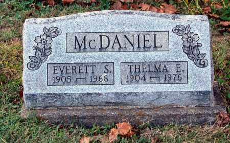 MCDANIEL, EVERETT S - Gallia County, Ohio | EVERETT S MCDANIEL - Ohio Gravestone Photos