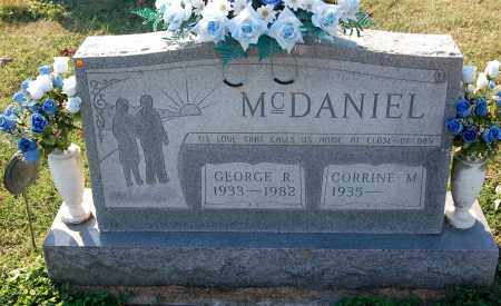 MCDANIEL, GEORGE R. - Gallia County, Ohio | GEORGE R. MCDANIEL - Ohio Gravestone Photos