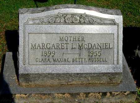 MCDANIEL, MARGARET L - Gallia County, Ohio   MARGARET L MCDANIEL - Ohio Gravestone Photos