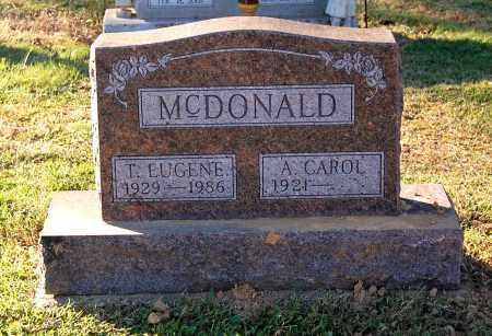 MCDONALD, A. CAROL - Gallia County, Ohio | A. CAROL MCDONALD - Ohio Gravestone Photos