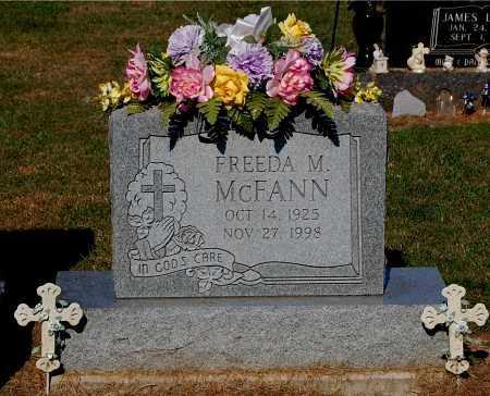 MCFANN, FREEDA M - Gallia County, Ohio   FREEDA M MCFANN - Ohio Gravestone Photos