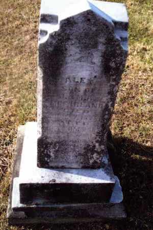 MCFARLAND, ALEX - Gallia County, Ohio | ALEX MCFARLAND - Ohio Gravestone Photos