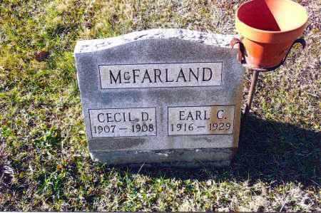 MCFARLAND, CECIL D. - Gallia County, Ohio   CECIL D. MCFARLAND - Ohio Gravestone Photos