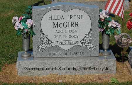 MCGIRR, HILDA IRENE - Gallia County, Ohio | HILDA IRENE MCGIRR - Ohio Gravestone Photos