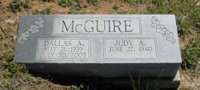 MCGUIRE, JUDY - Gallia County, Ohio   JUDY MCGUIRE - Ohio Gravestone Photos