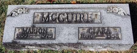 MCGUIRE, MARION - Gallia County, Ohio | MARION MCGUIRE - Ohio Gravestone Photos