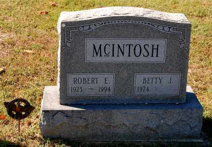 MCINTOSH, BETTY J. - Gallia County, Ohio | BETTY J. MCINTOSH - Ohio Gravestone Photos