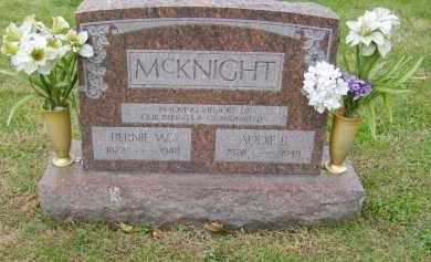 MCKNIGHT, BERNIE - Gallia County, Ohio | BERNIE MCKNIGHT - Ohio Gravestone Photos