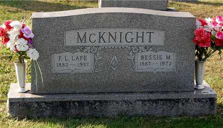 MCKNIGHT, BESSIE M - Gallia County, Ohio | BESSIE M MCKNIGHT - Ohio Gravestone Photos