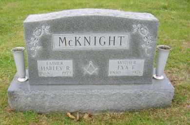 MCKNIGHT, HARLEY - Gallia County, Ohio | HARLEY MCKNIGHT - Ohio Gravestone Photos