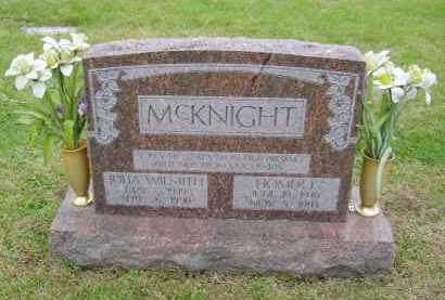 MCKNIGHT, HOMER - Gallia County, Ohio | HOMER MCKNIGHT - Ohio Gravestone Photos