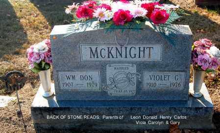 MCKNIGHT, WILLIAM DON - Gallia County, Ohio | WILLIAM DON MCKNIGHT - Ohio Gravestone Photos