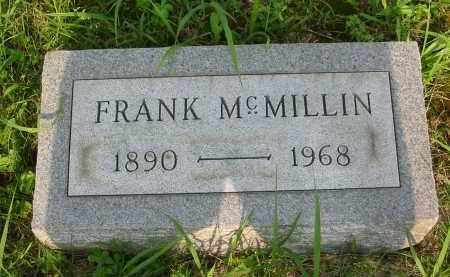 MCMILLIN, FRANK - Gallia County, Ohio | FRANK MCMILLIN - Ohio Gravestone Photos