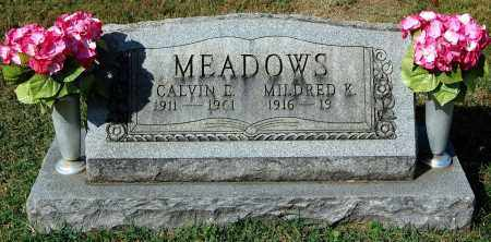MEADOWS, MILDRED - Gallia County, Ohio   MILDRED MEADOWS - Ohio Gravestone Photos