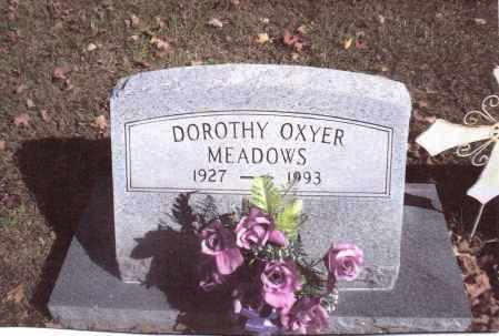 MEADOWS, DOROTHY - Gallia County, Ohio | DOROTHY MEADOWS - Ohio Gravestone Photos