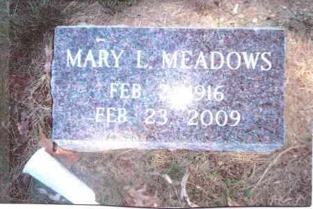 MEADOWS, MARY L. - Gallia County, Ohio   MARY L. MEADOWS - Ohio Gravestone Photos