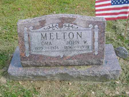 MELTON, OMA - Gallia County, Ohio | OMA MELTON - Ohio Gravestone Photos