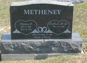 METHENEY, PATRICIA - Gallia County, Ohio | PATRICIA METHENEY - Ohio Gravestone Photos