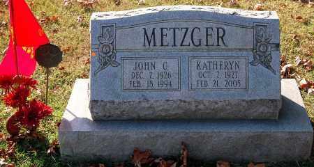 METZGER, KATHERYN - Gallia County, Ohio | KATHERYN METZGER - Ohio Gravestone Photos