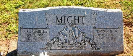 MIGHT, CORA MARILLA - Gallia County, Ohio | CORA MARILLA MIGHT - Ohio Gravestone Photos