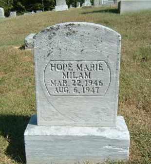 MILAM, HOPE MARIE - Gallia County, Ohio | HOPE MARIE MILAM - Ohio Gravestone Photos