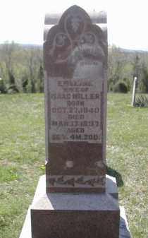 MILLER, EMELINE - Gallia County, Ohio   EMELINE MILLER - Ohio Gravestone Photos