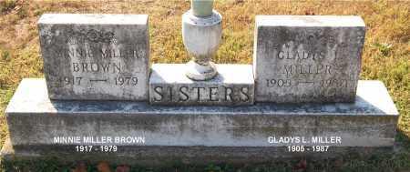 MILLER BROWN, MINNIE - Gallia County, Ohio | MINNIE MILLER BROWN - Ohio Gravestone Photos